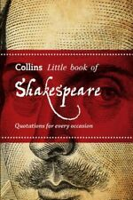 Collins Little Book Of Shakespeare by John Mannion [Paperback]