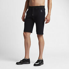 NikeLab TECH KNIT MEN'S SHORTS Machine Washable, Dark Obsidian- Size S,M,L Or XL