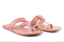 Leather Flip Flop moccasins slippers Ladies chappal Genuine leather Womens flats