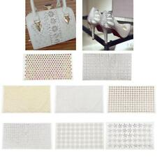 24x40cm Iron-on Bling Rhinestone Crystal T-shirt Bag Transfer Patch DIY Applique