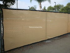10' x 50' UV Rated 85% Blockage Fence Privacy Windscreen W/Grommets