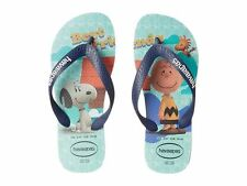 Havaianas Snoopy Ice Blue Kids Children Flip Flops Sandal all Size