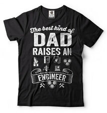 Engineer Dad T-shirt Best dad raises an Engineer Gift for Father Father's day