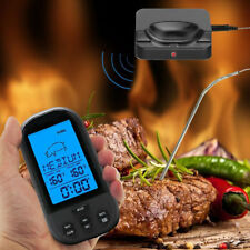 Digital Wireless Barbecue BBQ Meat Thermometer Remote Grill Cooking Food Probe S