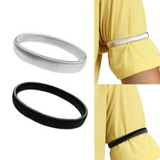 1PC Shirt Sleeve Holders Arm Bands Elasticated Metal Armband For Men Ladies   SU