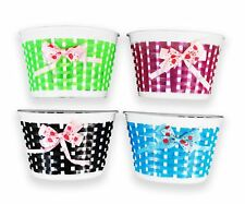 Bike Flowery Front Basket Bicycle Cycle Shopping Stabilizers Children Kids Girls