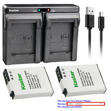 Kastar ENEL12 battery charger for Nikon EN-EL12 MH-65 AW100 AW100s AW110 AW110s