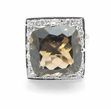 925 Sterling Silver Ring with Brown Smoky Topaz Natural Gemstone Handmade eBay.