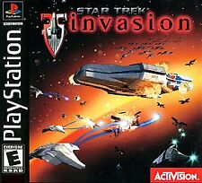 ***STAR TREK INVASION PS1 PLAYSTATION 1 DISC ONLY~~~