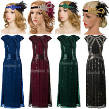 1920s Flapper Dress Gatsby 20s Roaring Charleston Fringe Party Dresses Plus Size