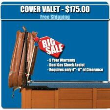 EASIEST to use Spa Cover Lift - Cover Valet - Hydraulic Hot Tub Cover Lifter