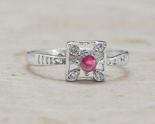 925 Sterling Silver Ring with Red Ruby Natural Gemstone Oval Cut Handmade eBay