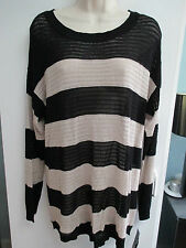 NWT Misses Size Large or XLarge Striped Light Weight Sweater, Top by AB Studio
