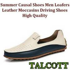 Summer Causal Shoes Men Loafers Leather Moccasins Driving Shoes High Quality