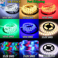 5M Super Bright 3528/5050 SMD LED Strip Light 60Leds/M 300Leds DC 12V Tape Light