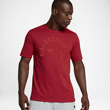 Nike DRY CORE PRACTICE MEN'S BASKETBALL T-SHIRT,UNIVERSITY RED - S,M,L,XL Or 2XL