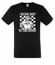 Rude Boy T-Shirt Skinhead Ska 2tone The Specials Madness Mod 2 Tone