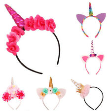 Hair Accessories Unicorn Horn Headband Headband Felt Glitter Unicorn Unicorn