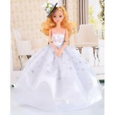 Fashion Party Clothes Wedding Princess Bridal Handmade Dress for Barbie Doll
