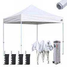 Easy Ez Pop Up Canopy 10x10 Outdoor Commercial Gazebo Party Trade Show Tent