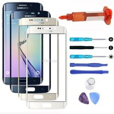 Outer Front Touch Screen Glass Lens Part Replacement For Samsung Galaxy S6 Edge