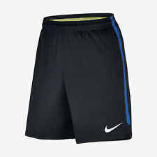 Nike INTER MILAN SQUAD MEN'S FOOTBALL SHORTS Black/Royal Blue-S, M, L, XL Or 2XL