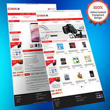 Mobile Responsive eBay Store Design & Auction Listing Template - HTTPS Approved