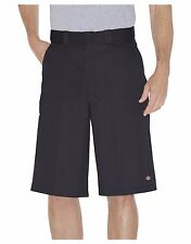 Dickies Men's 13 Inch Loose Fit Multi-Pocket Work Shorts 42283 BK BLACK
