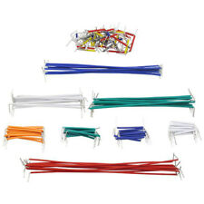 140Pcs Flexible Male To Male Lines Solderless Breadboard Jumper Cable Wires Cool