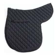 QUILTED HORSE RIDING SHOWING JUMPING SADDLE PAD SADDLECLOTH NUMNAH COLOURS SIZE