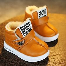Girl Boy Snow Boots Winter for Toddlers Child Kid Comfort Thick Antislip Boots