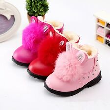 Winter Fashion Boots For Childrens Shoes Baby Girls Snow Boots Kids Cotton