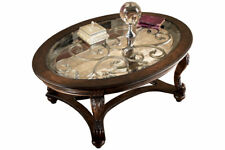 Ashley Norcastle Dark Brown Oval Cocktail Table T499-0