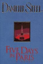 Five Days in Paris by Danielle Steel (1995, Hardcover)