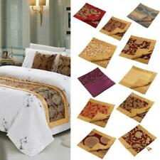 50*210cm Bed Runner Two Layers Bedding Decoration Mat Flag Home Hotel 11 Style
