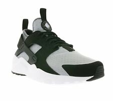 Nike Mens Nike Huarache Run Ultra Shoes Wolf Grey/White-Black 819685-010