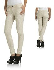Kardashian Kollection Kim Womens Jeans Skinny Low Rise Animal Print size 4 NEW