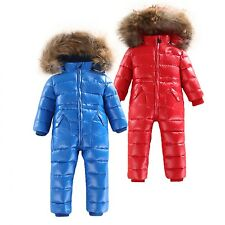 Winter Childrens Clothing Down Jacket Boys Outerwear Coats Girls Snow Waterproof