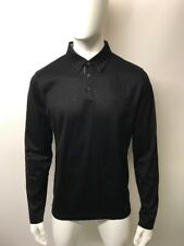 Hugo Boss Black Label Pressler 02 Polo Shirt Black Size L Long Sleeve