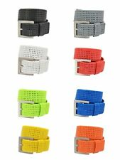 PGA Tour Perforated Silicone Golf Belt - 10 Different Colors #1 PGA Tour Seller