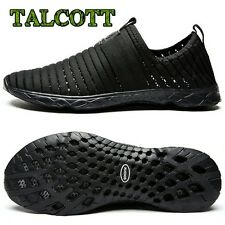 New Breathable Men's Shoes Summer Slip On Beach Shoes Flat Ladies Walking Water