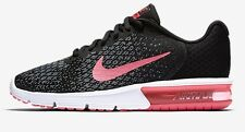 Nike AIR MAX SEQUENT-2 WOMEN'S RUNNING SHOE Black/Pink- US 6.5, 7.5, 8.5 Or 10.5