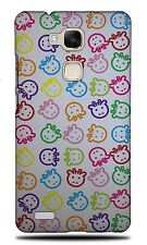 RAINBOW GIRAFFE PATTERN HARD CASE COVER FOR HUAWEI ASCEND MATE 7