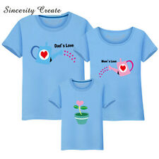 Family T Matching Shirt Mom Dad Vacation Brother Sister Kids Big Little Daughter