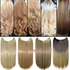 US Blonde Secret Headband Elastic Wire Hair Piece No Clip In Hair Extensions n22
