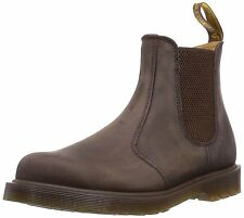Mens Dr Martens 2976 Chelsea Boot Brown Gaucho Crazy Horse Leather 11853201