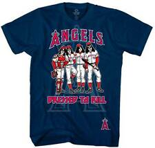 Kiss / Los Angeles Angels  Dressed to Kill  T-Shirt   Free Shipping  Official