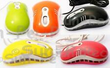 Mini USB with cable Optical Scroll Wheel Mice Mouse PC Laptop Choose Colour