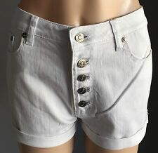 NWT White SINCE JANE High Rise Button Fly Denim Shorts Size 6, 8, 10 & 12