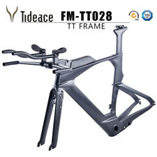 Carbon Time Trial Triathlon TT Bike Frame&Fork&Seatpost OEM Frameset Triathlon